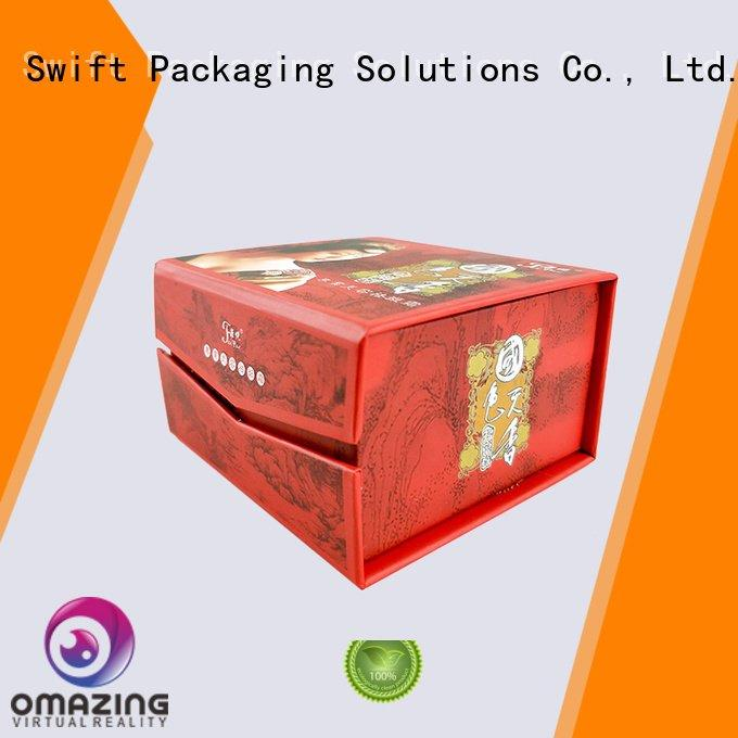 cream beauty deluxe Quality SWIFT Brand makeup packaging boxes packaging