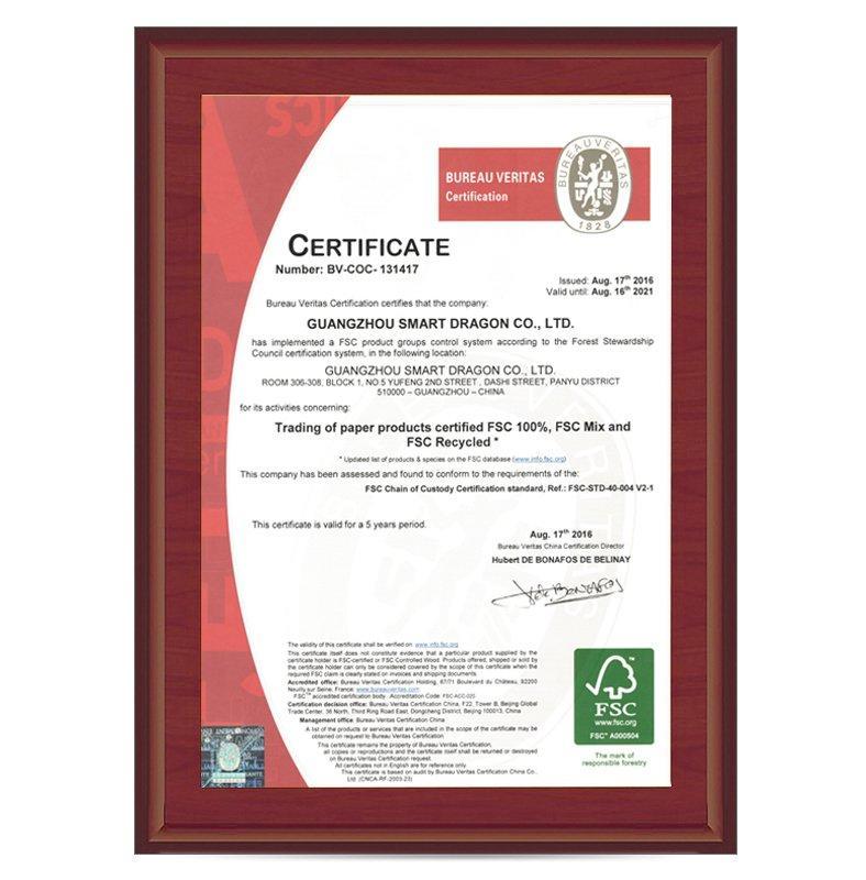 Fsc certifications