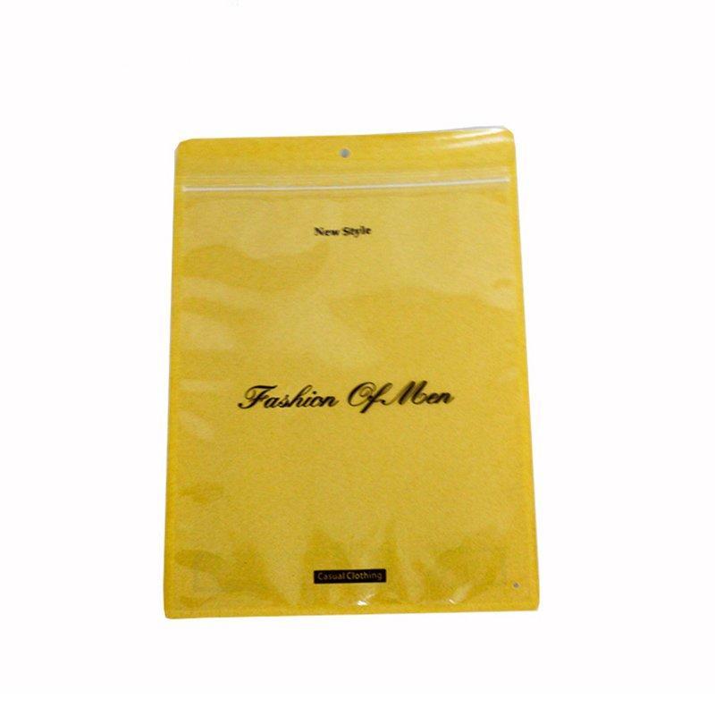 Pe+Pvc t Shirt Brand Packaging Bag t Shirt Packaging Boxes Wholesale