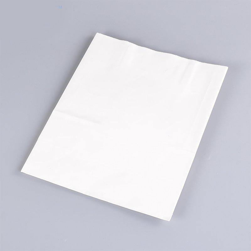 White Brown Hand Bag Clothing Packaging Bag
