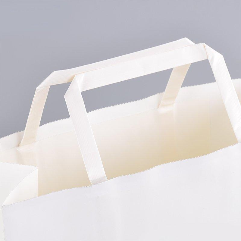 SWIFT Brand logo brown retail paper bag suppliers shopping hand