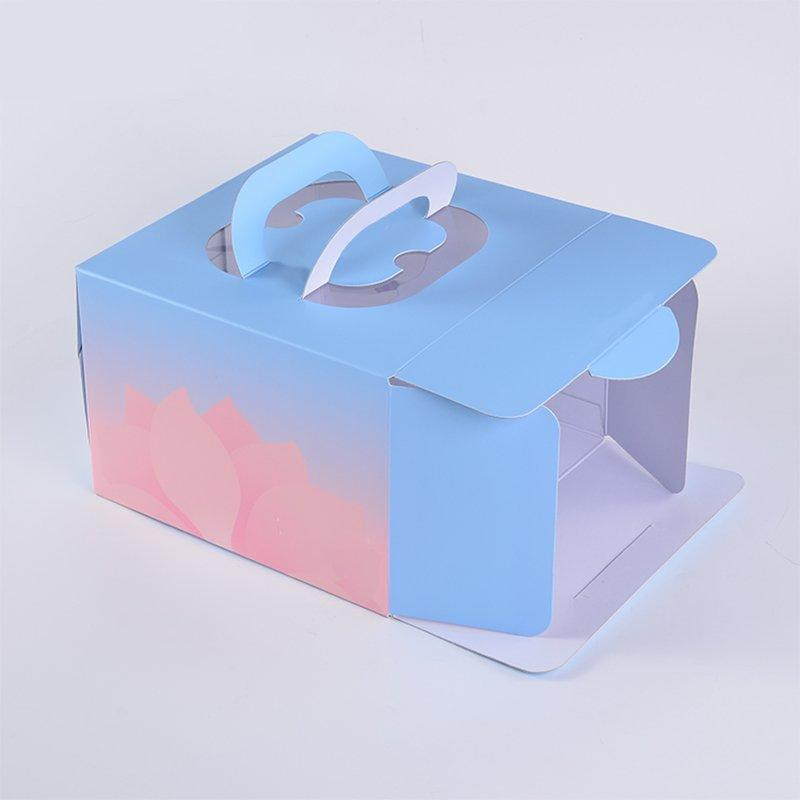 Custom cardboard food boxes cake cookie handle SWIFT