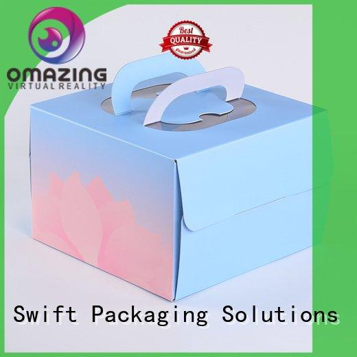 food safe cardboard boxes paper SWIFT Brand cardboard food boxes