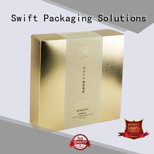 SWIFT drawer cosmetic packaging boxes cosmetic