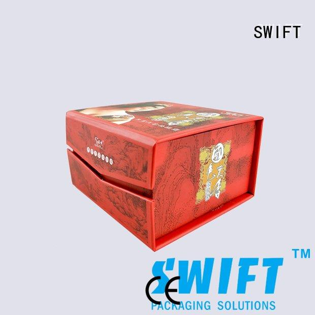 SWIFT cosmetic packaging boxes box supplies containers deluxe