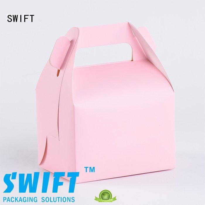 handle box pie cake SWIFT food safe cardboard boxes