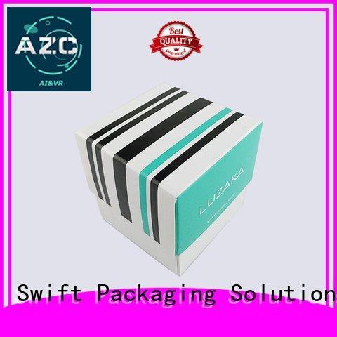 highend cardboard jewelry boxes wholesale SWIFT Brand