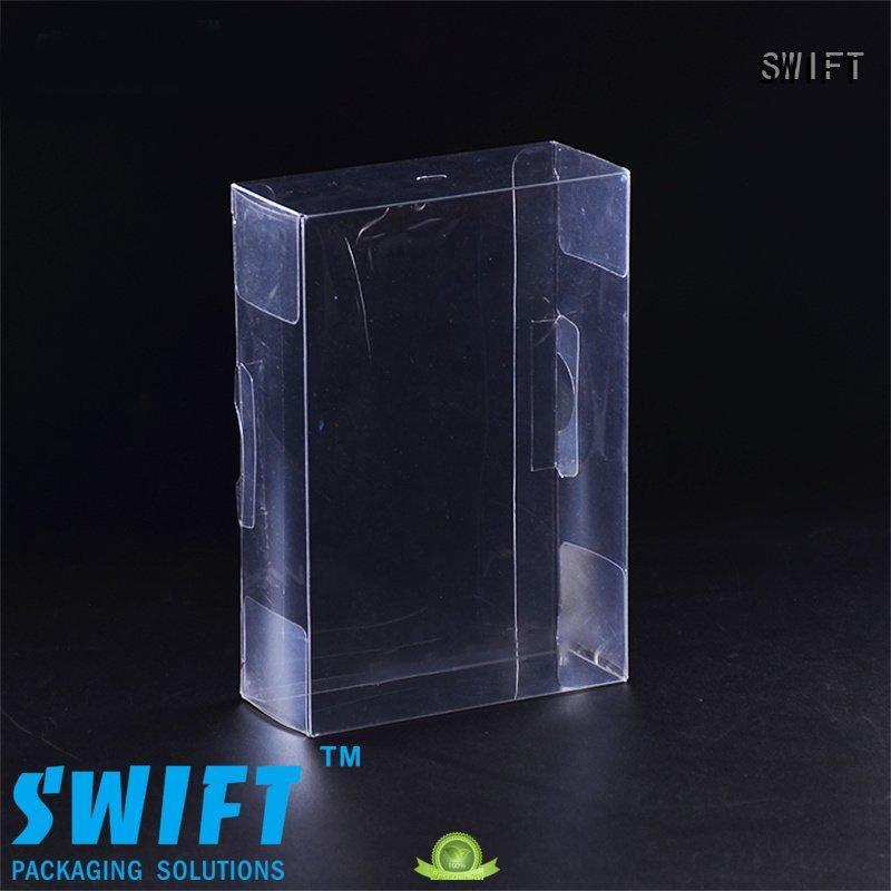 SWIFT underwear packaging box creative plastic underwear boxes