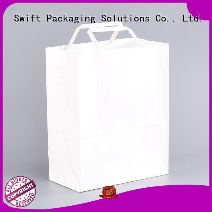 brown retail paper bag suppliers SWIFT Brand