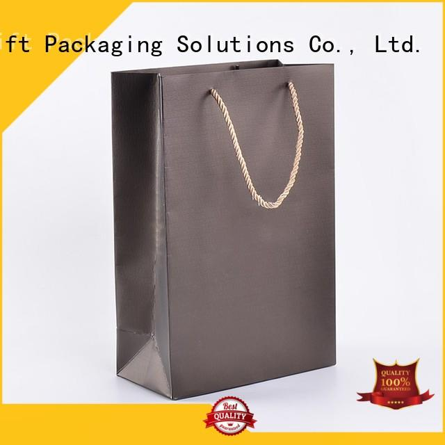 SWIFT paper gift bags with handles supplier for birthday