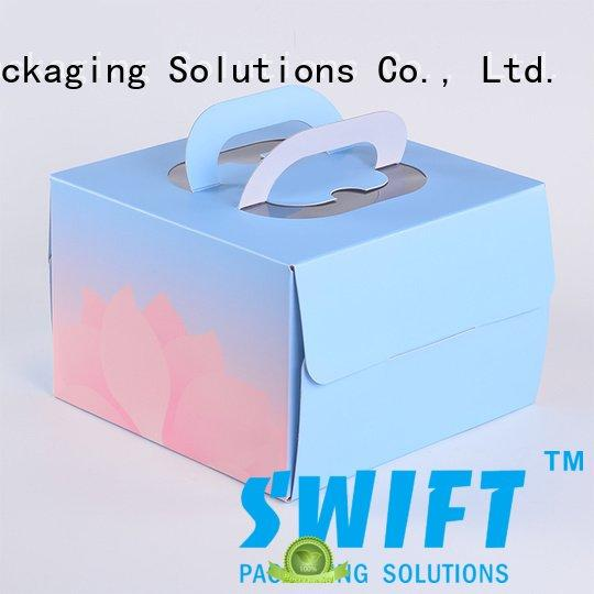 SWIFT containers cardboard food boxes box folding