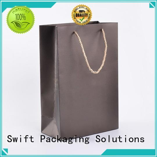 eco friendly paper gift bags with handles factory for birthday
