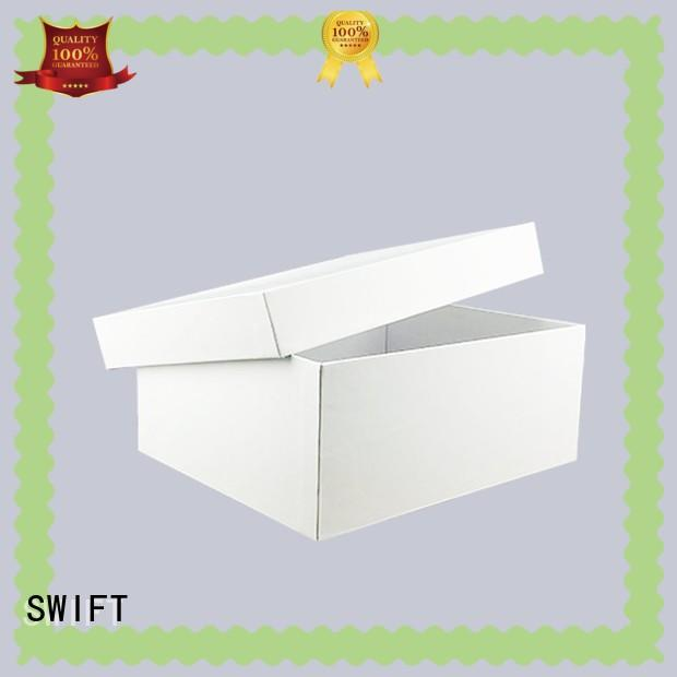 SWIFT bulk cardboard boxes factory price for hospital