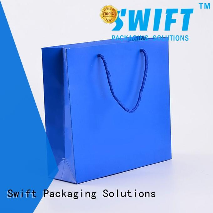 SWIFT printing paper bag manufacturers customized for garment