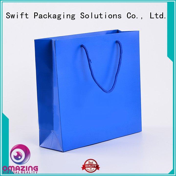 kraft SWIFT custom paper bags