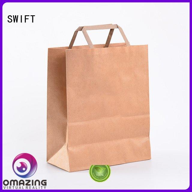 retail paper bag suppliers white SWIFT Brand