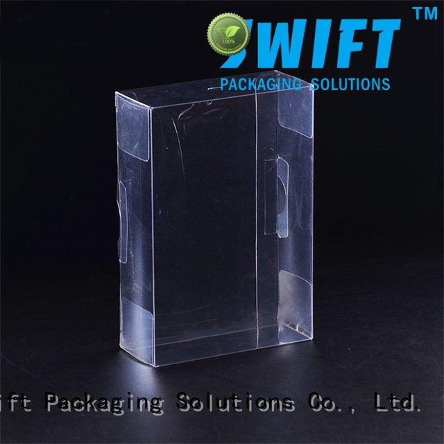 SWIFT underwear packaging box boxes clear packaging