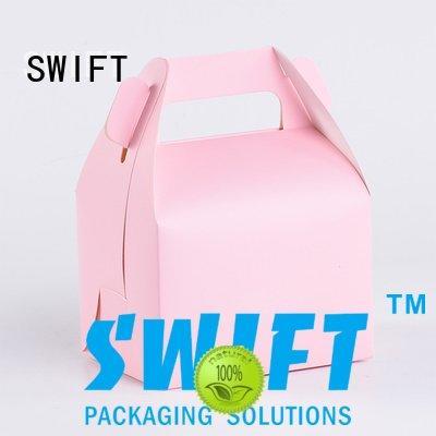 window design SWIFT cardboard food boxes