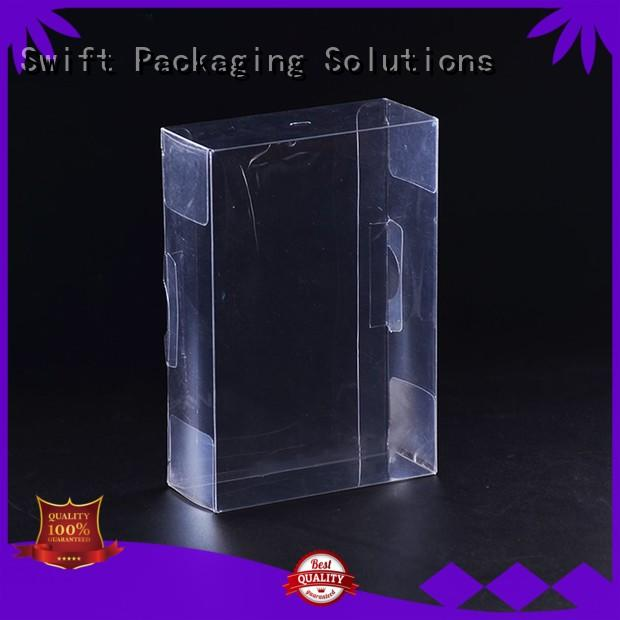 SWIFT clear personalized plastic bags supplier for men