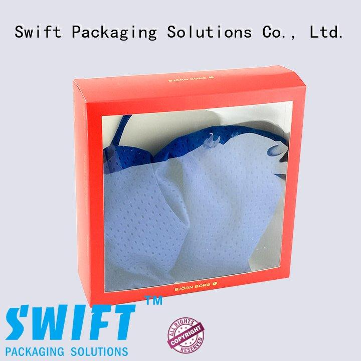 Hot shirt boxes wholesale clothes clothing packaging boxes luxury SWIFT
