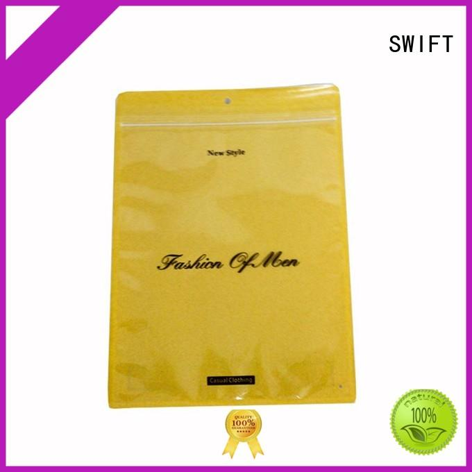 SWIFT plain plastic bags for clothes with good price for jacket
