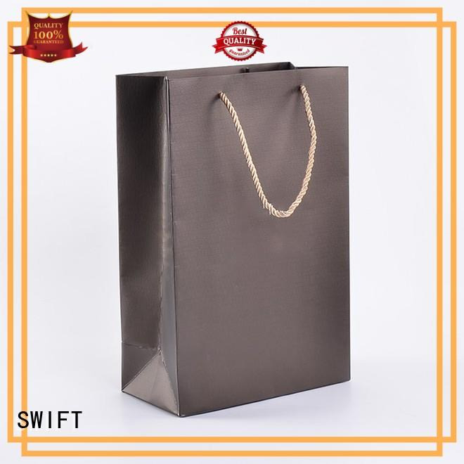 SWIFT kraft gift bags with handles wholesale for birthday