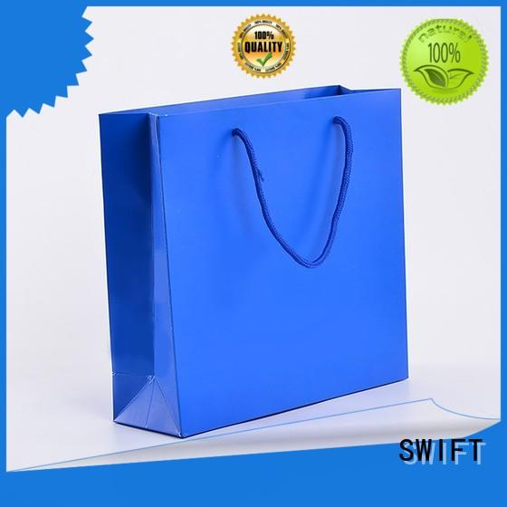 SWIFT kraft paper carrier bags factory for pants