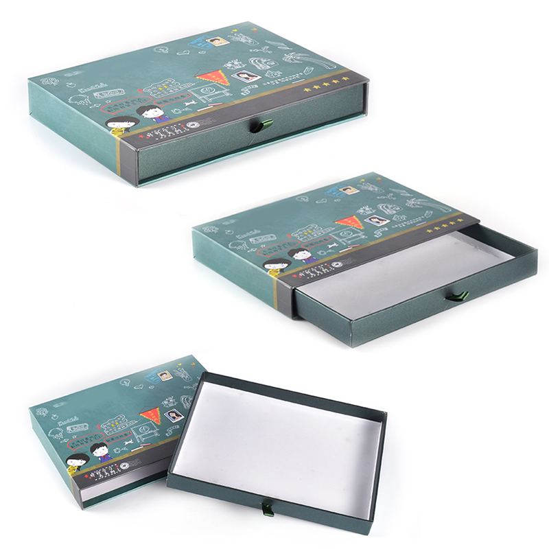 Cosmetic Packaging Boxes and Gift Box Cartoon