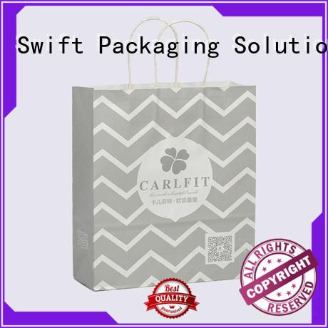 custom paper bags for jacket SWIFT