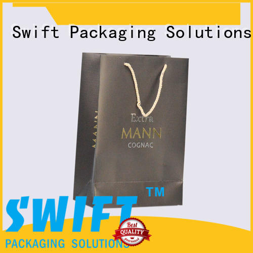 SWIFT zip lock custom paper bags with good price for garment