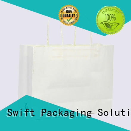 SWIFT paper gift bags with handles directly sale for Christmas