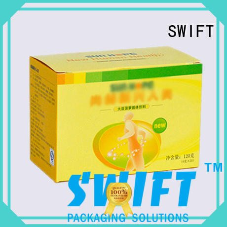 SWIFT disposable cardboard food packaging suppliers for dessert