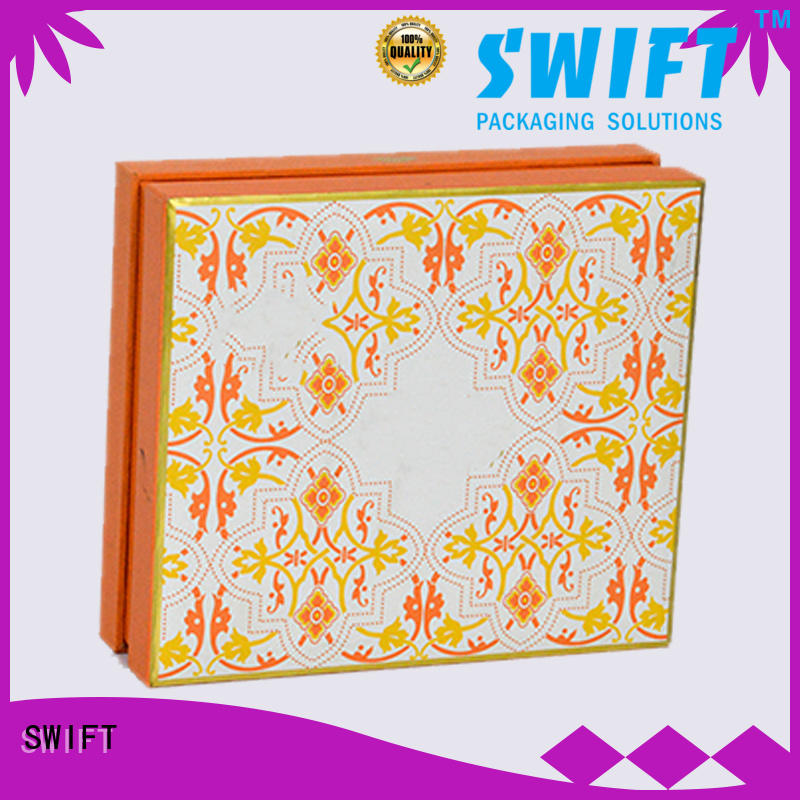 SWIFT cardboard gift boxes with lids manufacturer for birthday