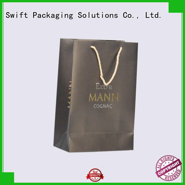 paper carrier bags directly sale for jacket SWIFT