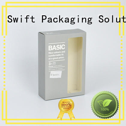 SWIFT recycled paper product packaging boxes factory for ladies