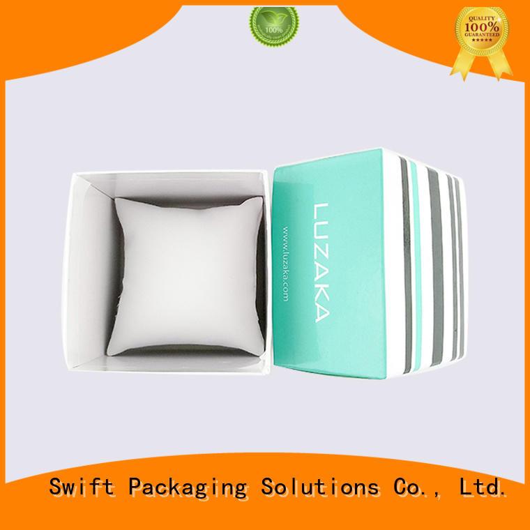 Quality SWIFT Brand cardboard jewelry boxes wholesale watch diy