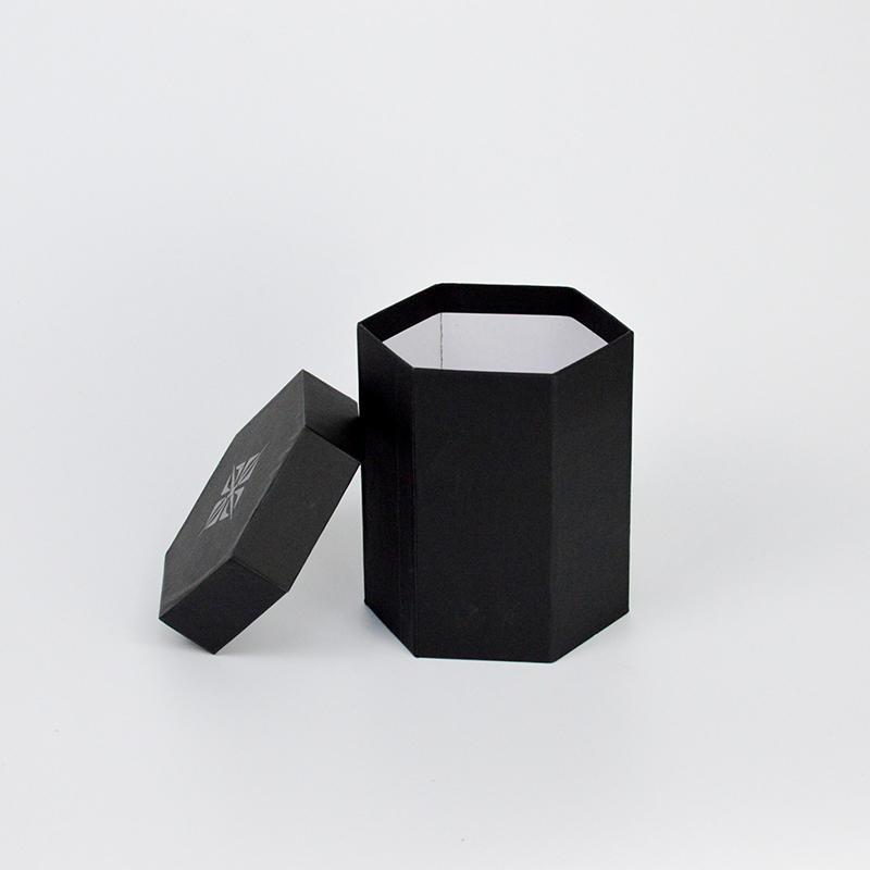 Custom Design Hexagonal Cardboard Gift Boxes