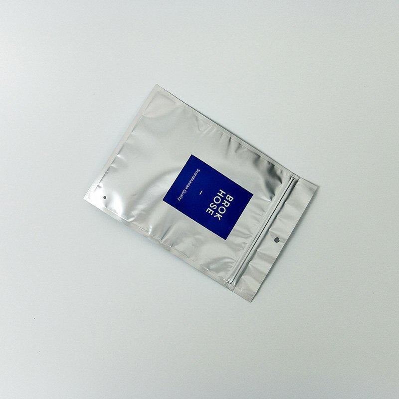 Fashion design high quality zip lock Plastic Bag Underwear With Custom Pringting