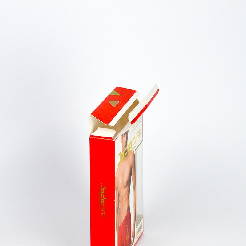 garment packaging box for ladies' man's children's brief underwear T-shirt sock hat
