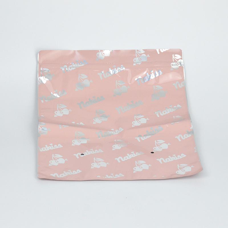 zipper plastic packaging bag Packing underwear garment jacket T-shirt pants etc