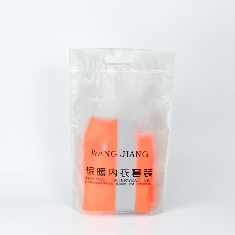 SWIFT Underwear Packaging Bag With Hole Handle For Uniform Clothing Clothing Plastic Bag image7
