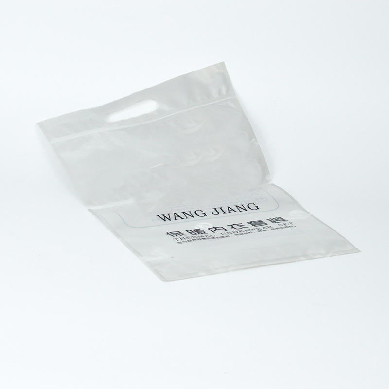 zip lock clothing plastic bag for t shirt,swimwear or underwear
