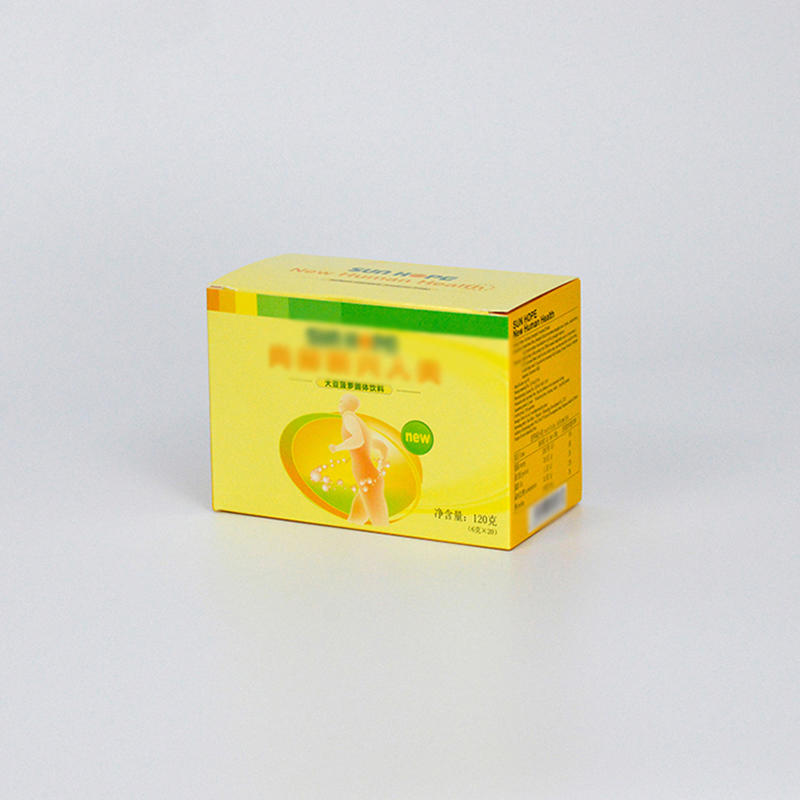 Cmyk Printing Food Packaging Paper Box For Packing Health Care Products