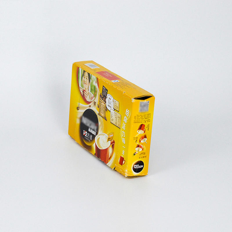 Recycled Paper Material Tea Packaging Box Cmyk Pritning