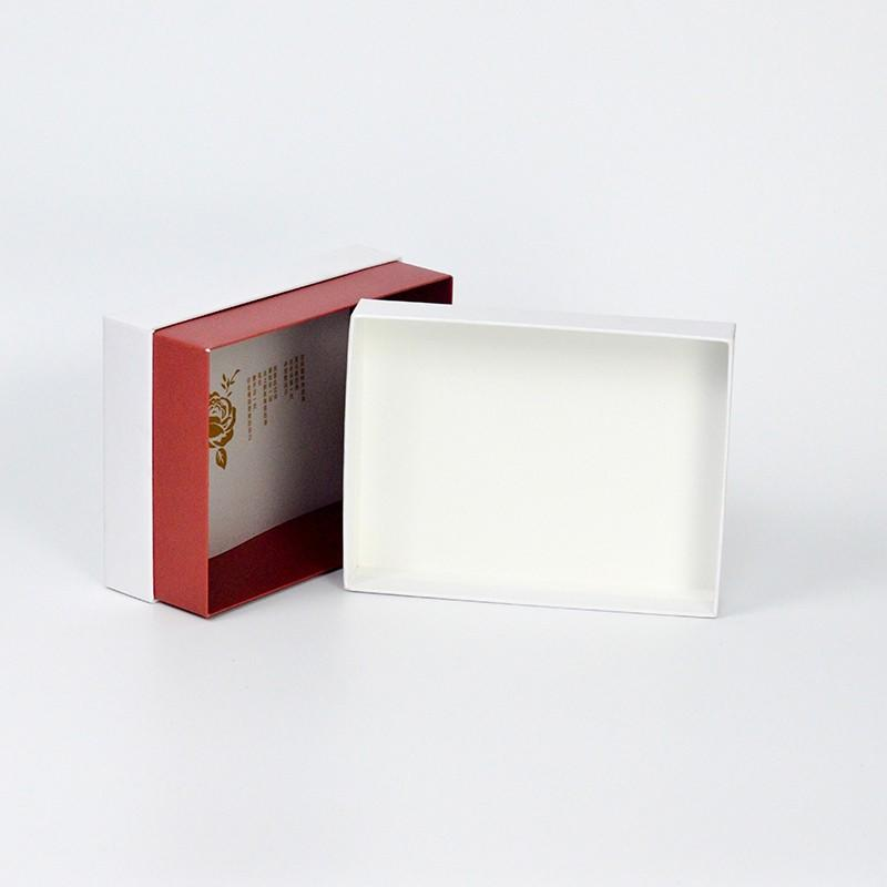Custom paper cosmetic packaging boxes drawer makeup packaging boxes