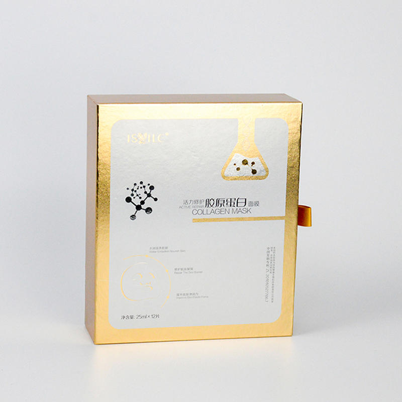 1000g Cardboard Cosmetic Packaging Inner Boxes