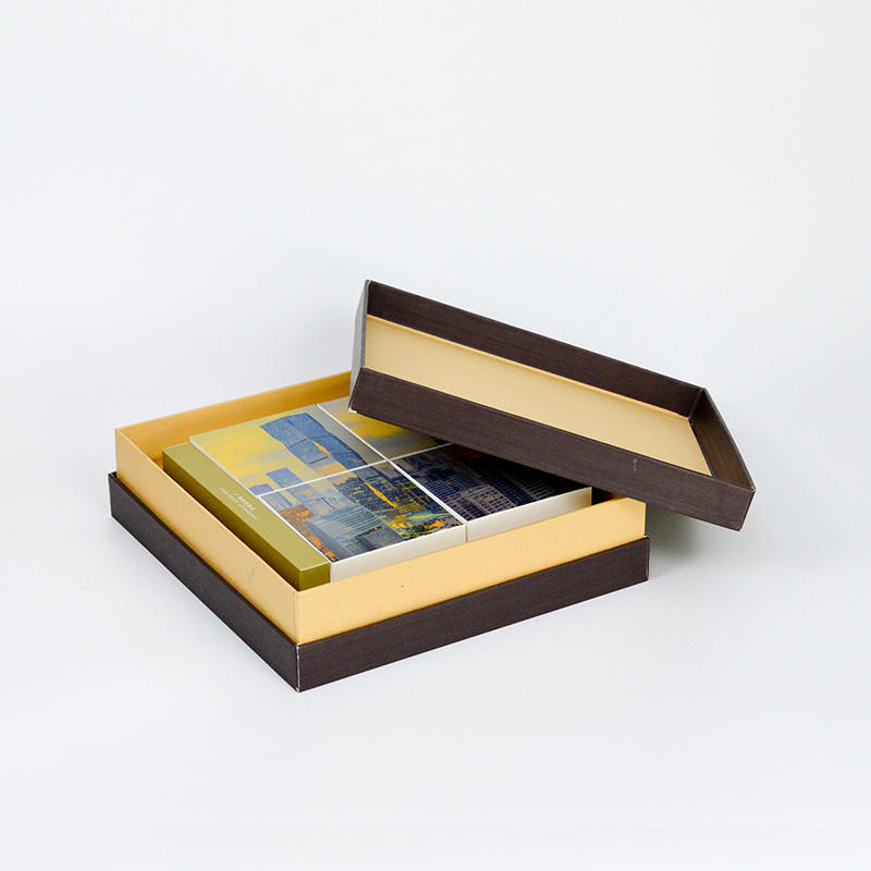 Hardcover Packaging Box For Tea 8mm Thickness