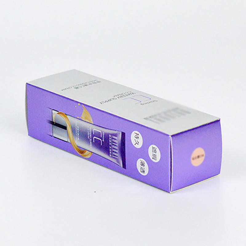 CMYK Printing Cosmetics Paper Packaging Box