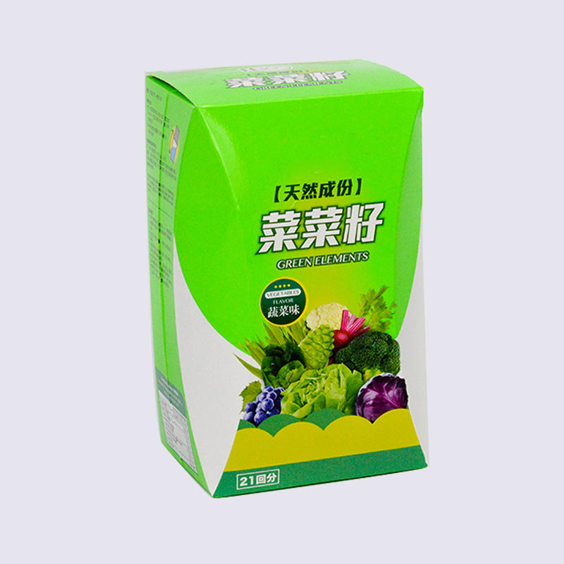 400gsm Art Paper Material Food Packaging Box