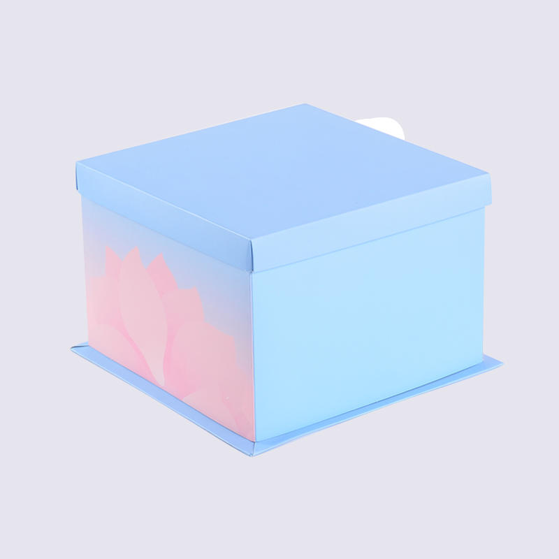 Disposable Paper Cake Pie Containers, Cake Packaging Box With Window